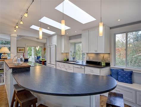 lighting ideas for kitchen vaulted ceiling lighting ideas to beautify you home design