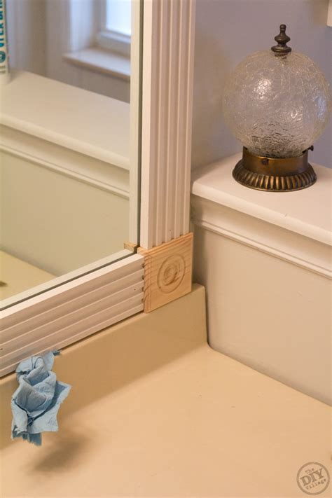 bathroom mirror molding 1000 images about for my bathroom on pinterest towel