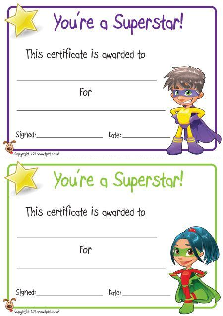 certificate templates for children sle certificates for cinderella childrens