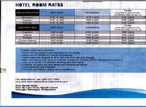 pico de loro hotel room rates photo