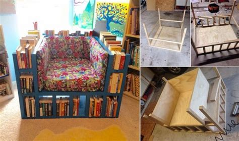 bookcase chair build plan how to