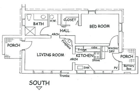 adobe floor plans solar adobe house plan 877 cottage solaradobe houseplans