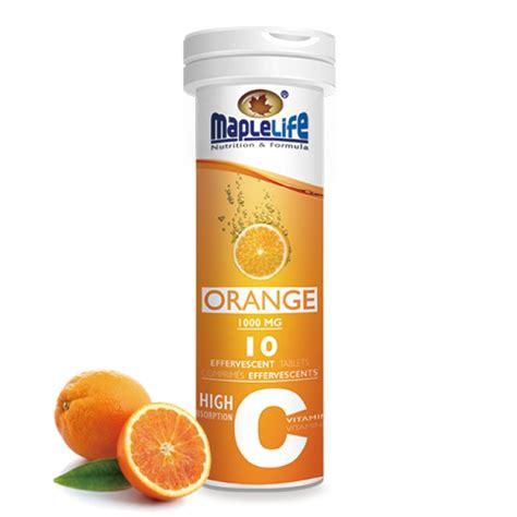 Vitamin Tablet vitamin c effervescent tablets 1000 mg 10 tablets