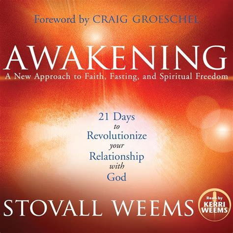 the of freedom a guide to awakening books awakening audiobook by stovall weems for just 5 95