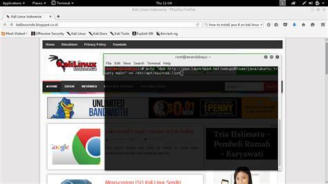 linux tutorial echo cara install java 8 di kali linux x tretesg3t4r x