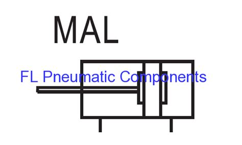 Cylinder Pneumatic Mal 20 150 mal20x150 aluminum air cylinders manufacturers and