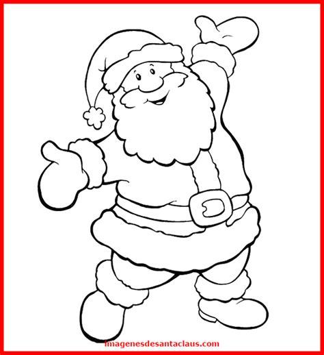 imagenes navideñas para colorear de papa noel dibujos de papa noel para colorear a mano y ordenador