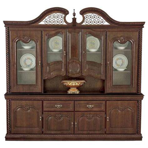 vitrinas de madera para comedor vitrina y bufetero cant 225 brico fabricados en madera color