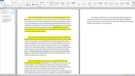 Compare And Contrast Essay Exles For College Students by Compare And Contrast Essay Sle 1