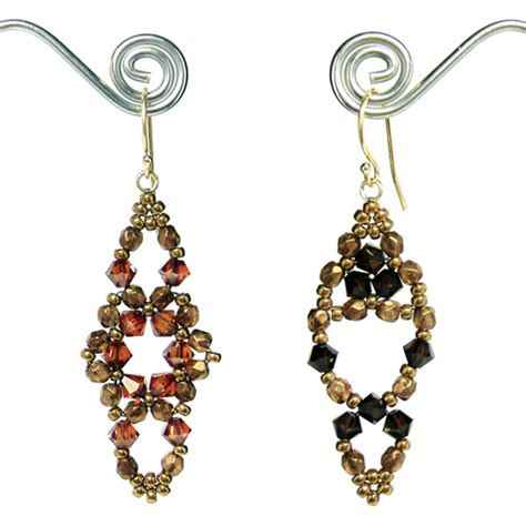 free seed bead earring patterns beaded earrings patterns 171 browse patterns