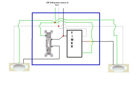 timer light switch wiring diagram timer refrigerator