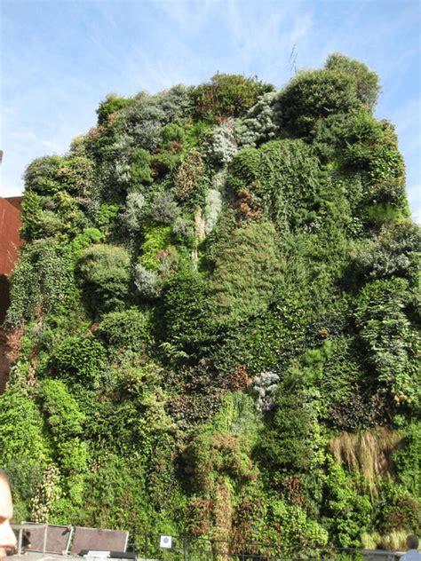Vertical Garden Madrid ταρατσοκηποσ ο κηποσ των πολεων κάθετοι κηποι