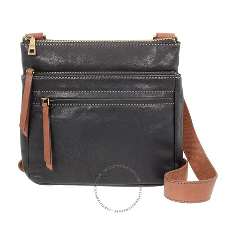 corey wallet black fossil corey black crossbody handbags