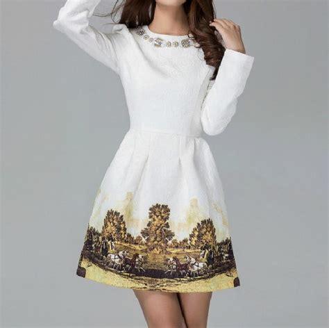 Autumn Casual Dress 25 s autumn winter brief casual dress fashion sleeve empire dresses princess