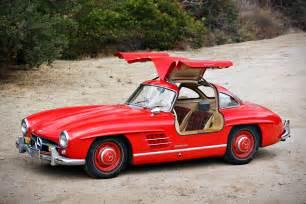 Mercedes 300 Gullwing Auction Block 1955 Mercedes 300sl Gullwing
