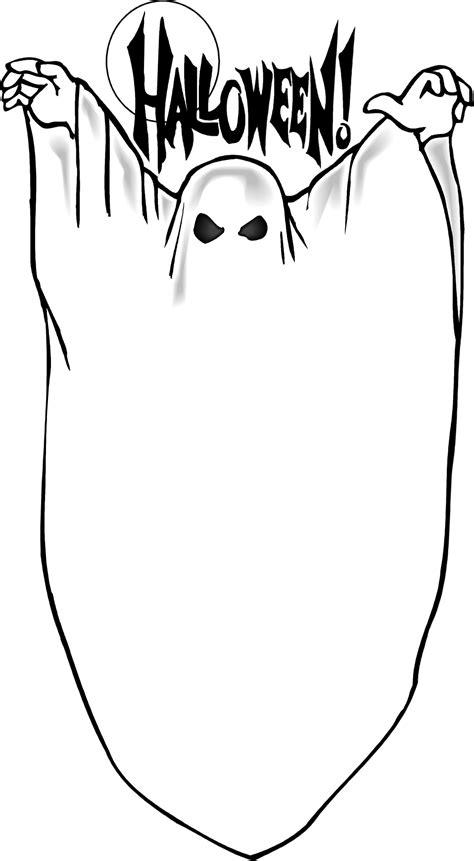 Ghosts | Free Stock Photo | Illustration of a blank ghost ... About:blank Free Halloween Clipart