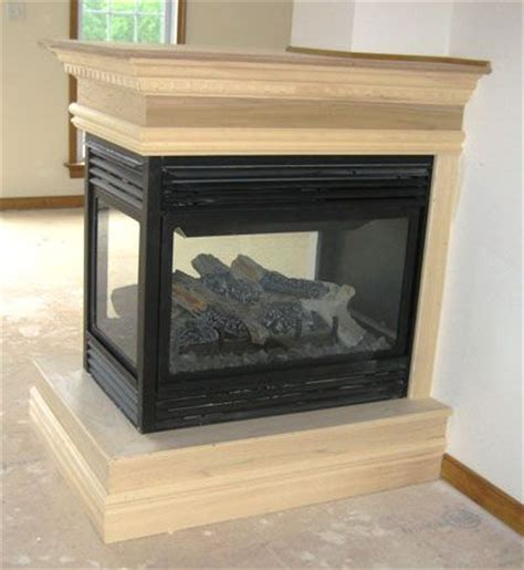 custom fireplaces and more 3 sided fireplace ideas custom home builder for central