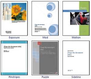 cover page design template for word how to create cover page design instantly using microsoft