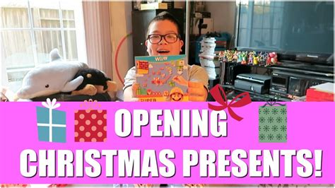christmas presents that start with r opening presents 2015 december 25 2015