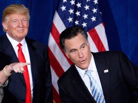 Mitt Romneys Top Strategist Thinks Donald Trump Wont Win | mitt romney donald trump won t win the gop nomination