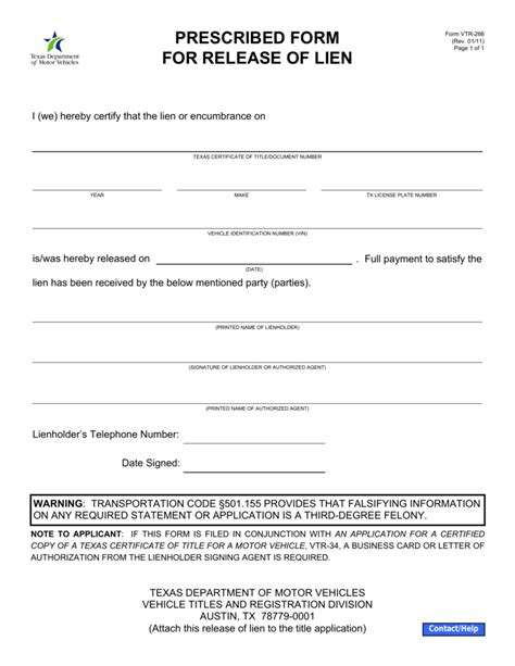 Sle Letter Of Guarantee To Release Title vehicle lien form the best vehicle 2018