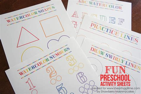new year activities for 3 4 year olds activity sheets for 3 year olds preschool printing