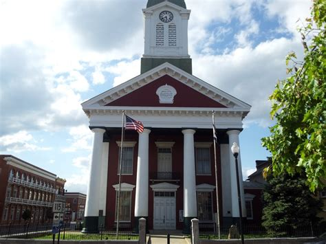 the jefferson county west virginia historic courthouse