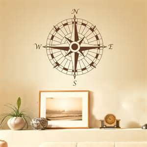 buy nautical compass wall decal office vinyl
