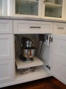 Kitchen Rev Ideas Furniture Kitchen Aid Cabinets With Popup Stand Mixer Complete Your Kitchen