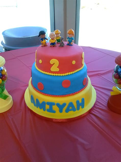 Caillou Cake | Lucy J. Productions