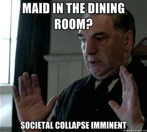 Downton Abbey Meme - mr carson downton abbey pinterest