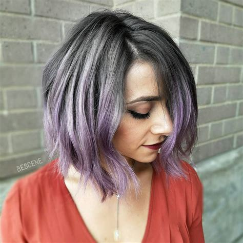 how to cut medium or thick hair in a blunt medium length haircuts for thick hair