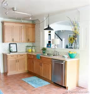 Ideas For Updating Kitchen Cabinets by Great Ideas To Update Oak Kitchen Cabinets