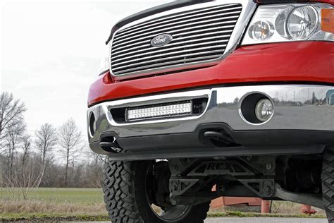 rough country light bar review 20in dual row single row led light bar hidden bumper
