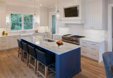 tv in kitchen ideas coastal interior design ideas home bunch interior design