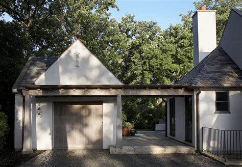 covered garage breezeway ideas shed traditional with entrance detached garage