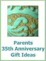 35th Wedding Anniversary Vacation Ideas by Anniversary Gift Ideas For Parents On