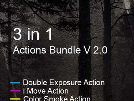 1703183 3 in 1 actions bundle v 2.0 19494240 free psd
