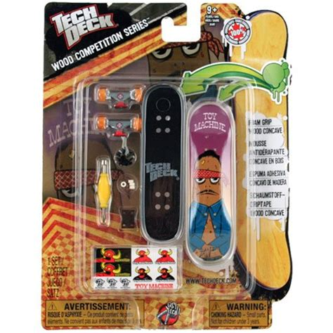 tech deck wood competition series finger board set toy