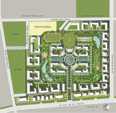 city floor plan gardenia golf city in sector 75 noida buy sale apartment