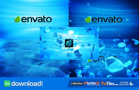 after effects templates free envato ice explosion videohive project free download free
