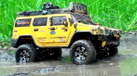 toyota land rover truck rc off road extreme 4x4 scale trucks in mud hummer h2