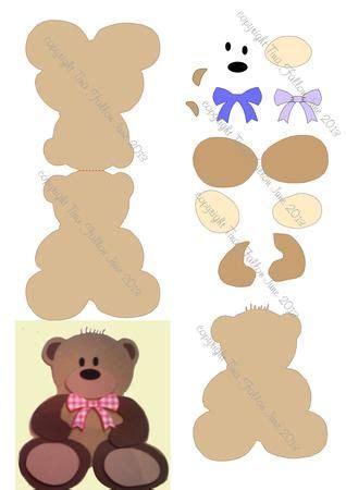 teddy card template best 25 teddy template ideas on