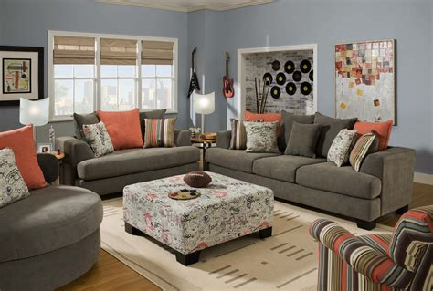 living room sofa and loveseat gray sofa living room ideas peenmedia com