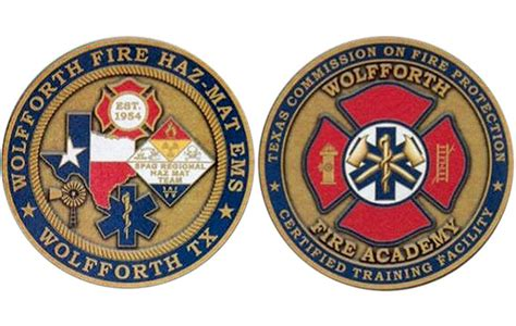 ems challenge coin our challenge coin wolfforth ems
