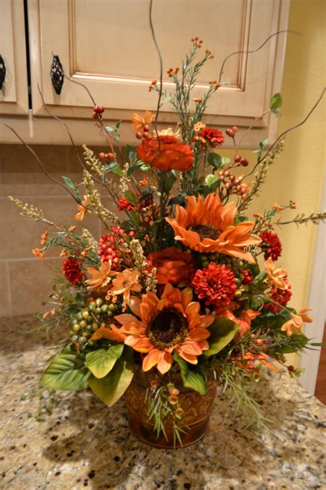 Come With Me Classic Thanksgiving Ae The Look by Colors Of Fall Arrangement Fall Arrangements Etsy And