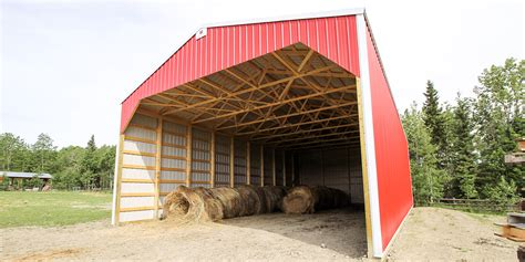 Building A Shed R by Post Frame Hay Storage Buildings Alberta Hay Sheds Remuda