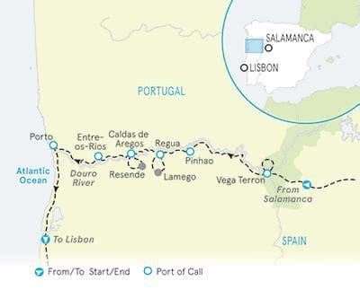 douro river cruise & hiking tour | salamanca to lisbon