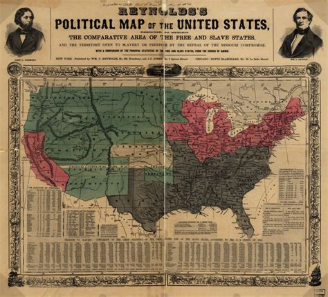 sectional crisis sectional crisis map 1856 the american yawp reader