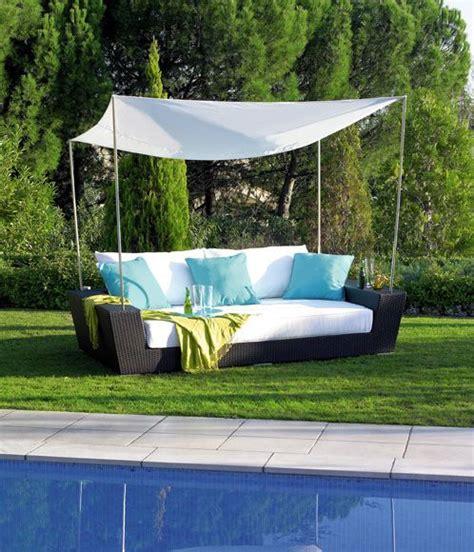 Leroy Merlin Garden Furniture by Cama De Aluminio Y Rattan Sint 233 Tico Marsella Ref 15274203